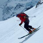 Spring Ski Mountaineering On Mont Velan, Swiss Alps