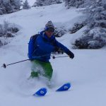 Powder Skiing In The Chamonix Valley