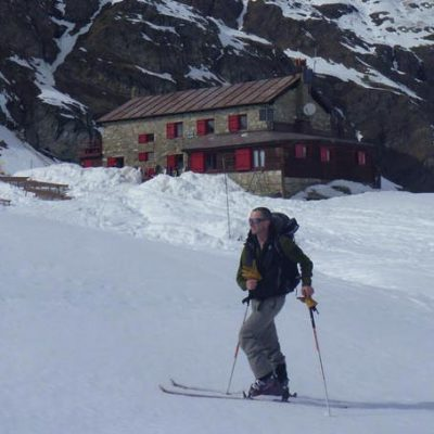 Benevelo Hut Ski Touring, Valle di Rhemes, Valle d'Aosta