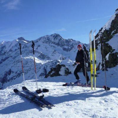 Col De La Fenetre (2245m) Les Contamines