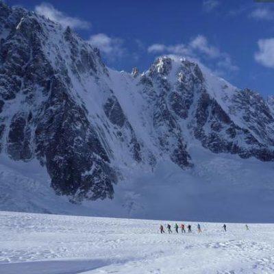 Col d'Argentiere (3552m), Argentiere Glacier