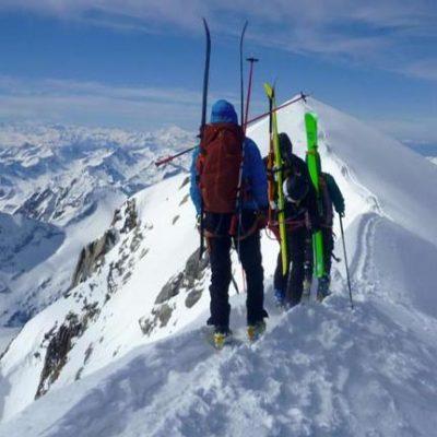 Domes de Miage (3670m) Glacier d'Armancette