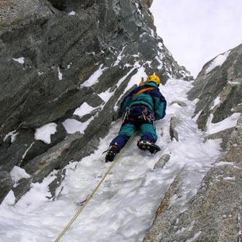 Gabarrou-Albinoni (III 4+ 500m) East Face Mont Blanc du Tacul