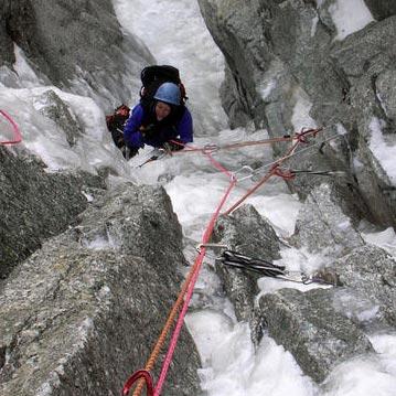 Modica Noury (III, 5+), E. Face Mont Blanc du Tacul