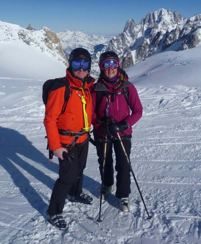 The easiest way to ski the Vallee Blanche!
