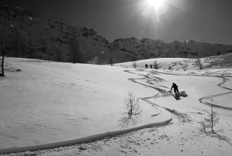 Ski Touring Col Serena, Val d'Aosta