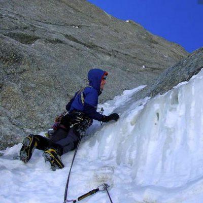 Pinochio (IV, 6+ 450m) East Face Mont Blanc du Tacul
