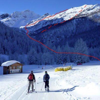 Punta Della Croce (2478m), Val d'Aosta