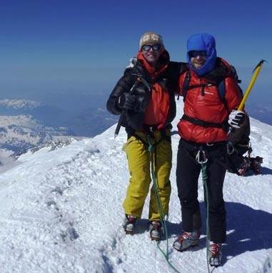 Ski Mont Blanc (4810m)