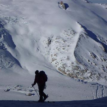 'The 2 Cols Route', Chardonnet & Fenetre du Tour, Chamonix