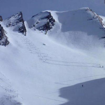 Trous de la Mouche (2467m), Massif des Aravis