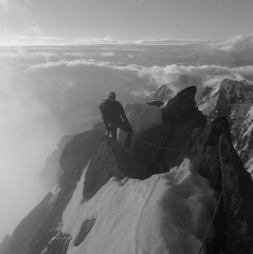 Aiguille du Chardonnet (3824m), Forbes Arete (AD)