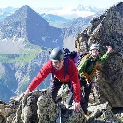 Aiguille Croux (3256m) SW Ridge, AD