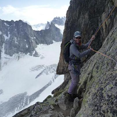 Aiguille d'Orny (3167m) SW Face, 200m, D / F5a