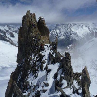 Aiguille d'Entreves (3604m) Traverse