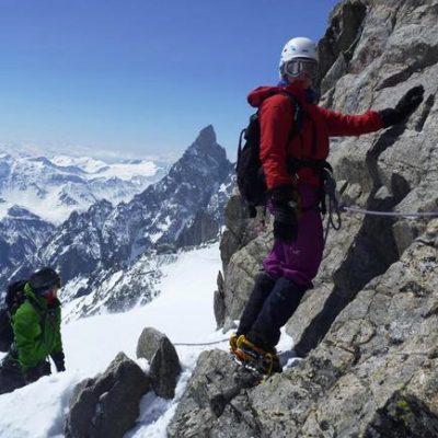 Aiguilles Marbrees (3535m) Traverse