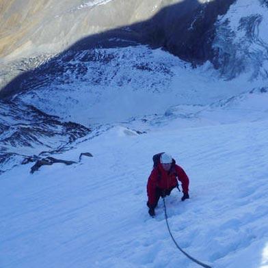 Arête Mettrier (AD) 1000m, Miage North Face