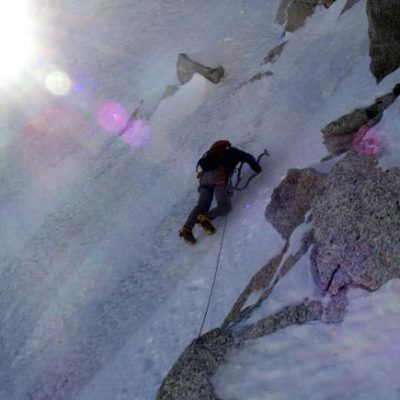 Escarra Route, Aiguille du Chardonnet North Face