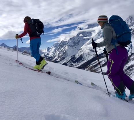 Ski Touring Italian Val Feret