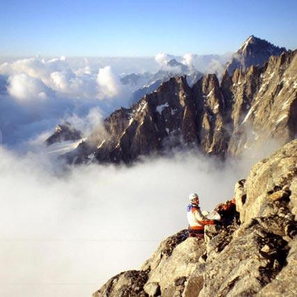 Original Route (TD 850m) North Face Petit Dru