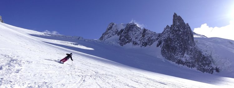 Ski Touring In The Vallee Blanche