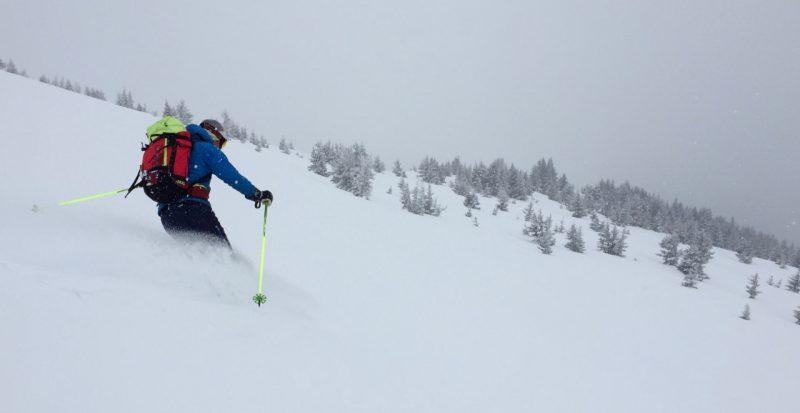 Combloux ski touring guide