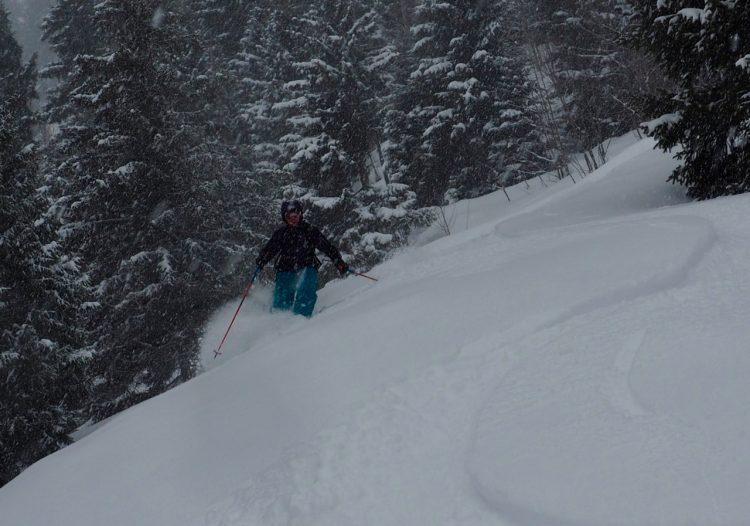 Powder Ski Touring Les Houches Chamonix