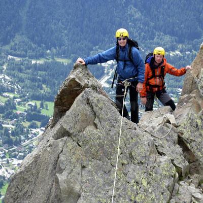 Chamonix Rock Climbing Gallery