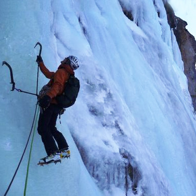 Argentiere Icefalls 'Rive Droite'