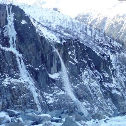 Argentiere Icefalls 'Rive Gauche'