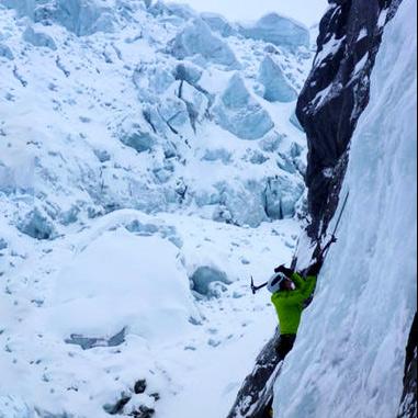 Cascade Ice Climbing
