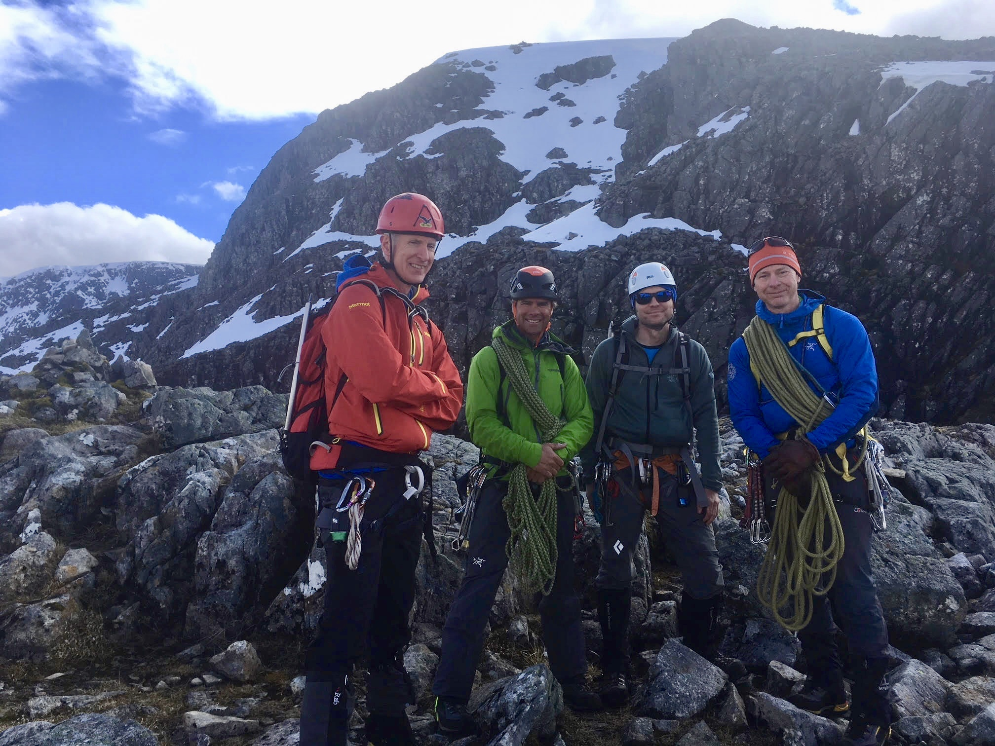 Scottish Highlands Mont Blanc Training Weekend