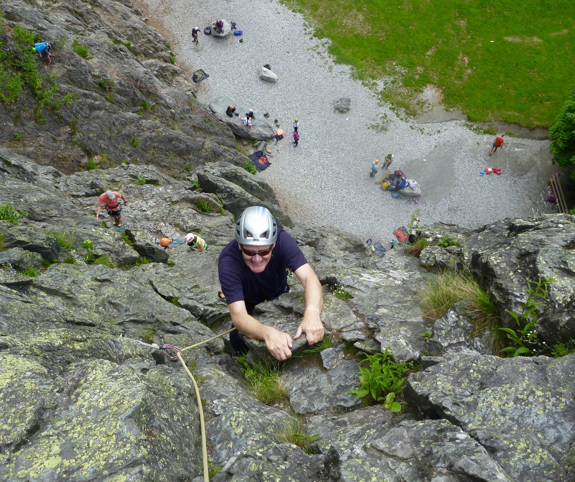 Chamonix Rock Climbing | High Mountain Guides