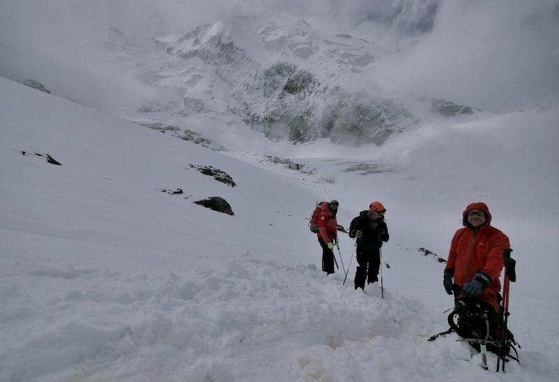 Tete Rousse Ascent, Mont Blanc