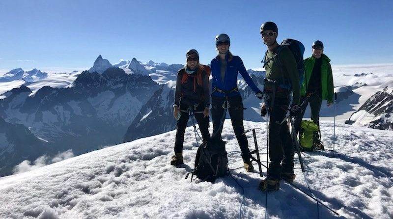 Alpine Mountaineering Intro Course