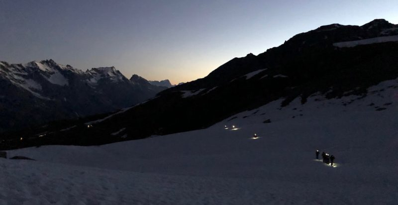 Dawn Over Chamonix Valley
