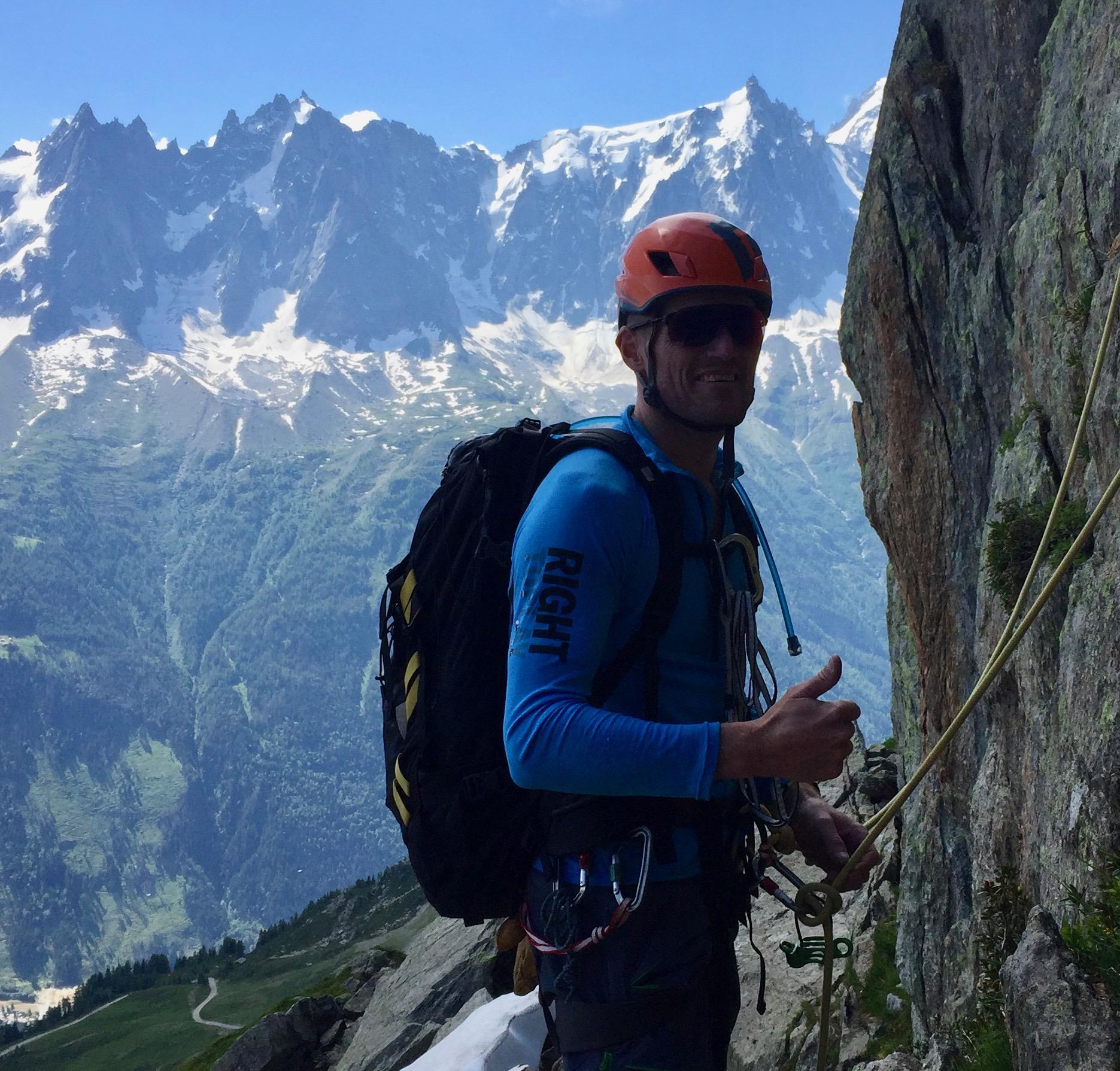 Le Brevent – Chamonix – Rock Climbing