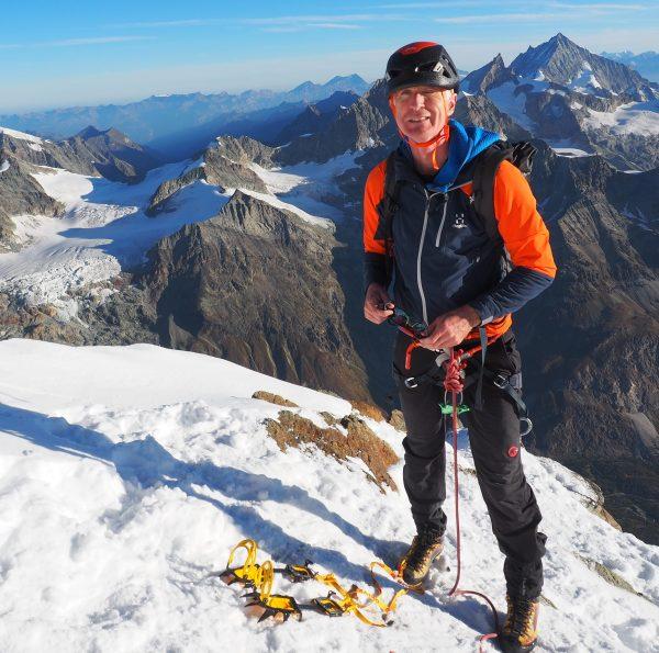 Ascent Of The Matterhorn Hörnli Ridge