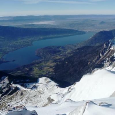 La Tournette (2351m), Lac Annecy, Les Aravis