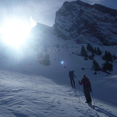 Trous de la Mouche 2467m, Massif des Aravis
