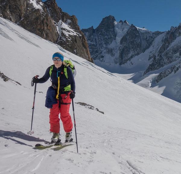 Argentiere Glacier Ski Touring Day
