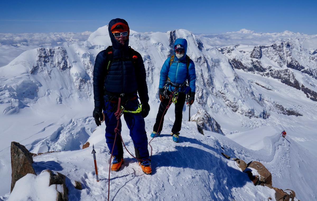 Ski Dufourspitze, Gran Paradiso & Chamonix Ski Mountaineering