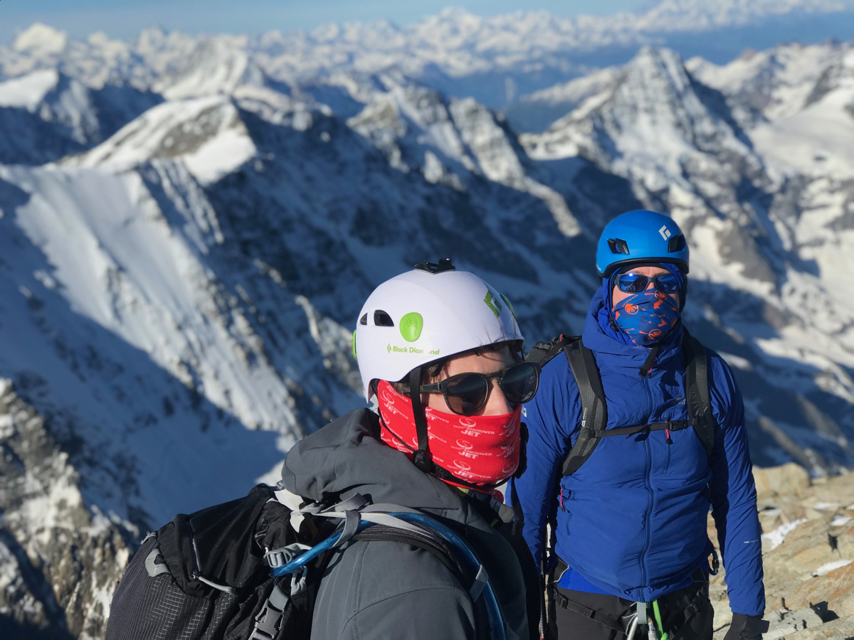 Jungfrau & Monch Ascents, June 2019