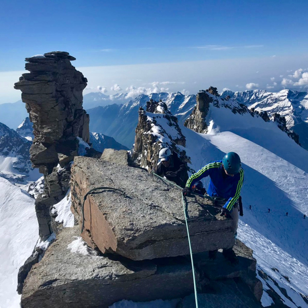 Climb Gran Paradiso Course June 2019