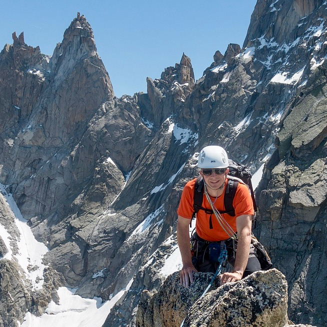 Chamonix Granite Mountaineering Week, June 2019