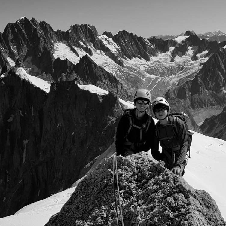 Chamonix Rock Climbing, August 2019