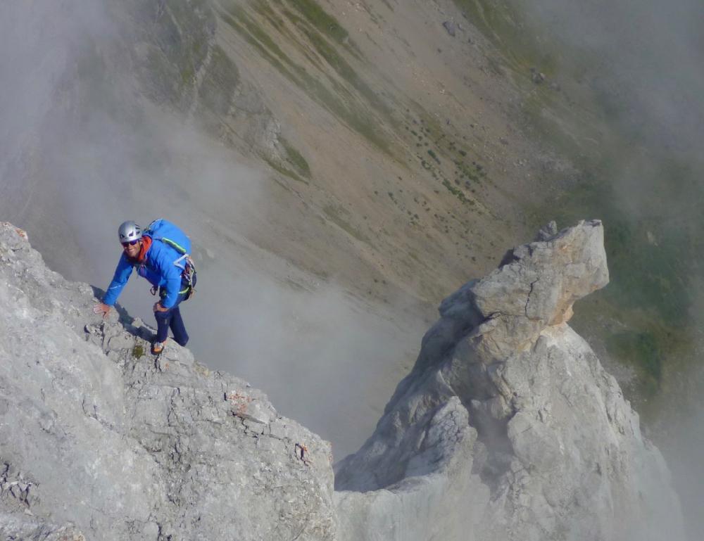Climbing In The Aravis
