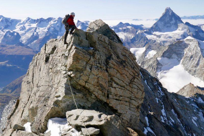 Zinalrothorn Matterhorn