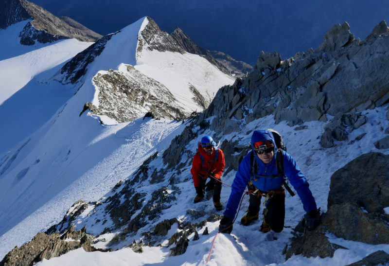 Nadelhorn Ascent