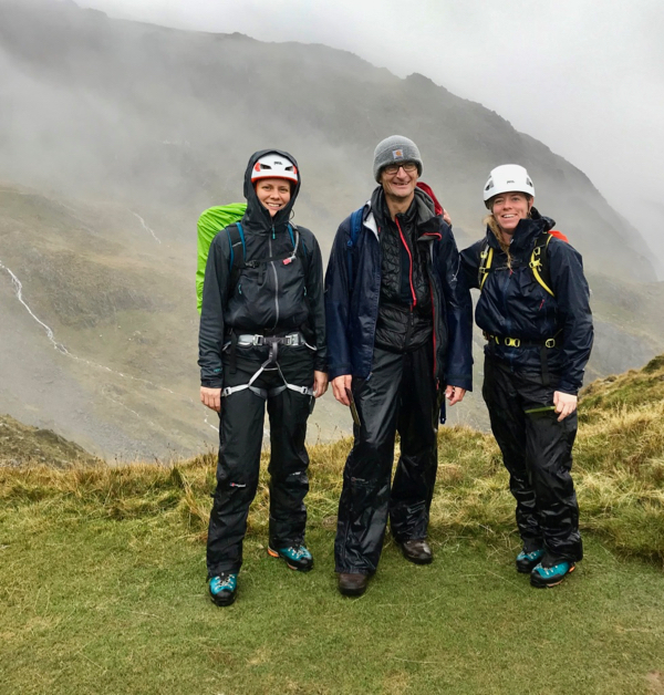 Mont Blanc Training Weekend, Snowdonia Oct 2019